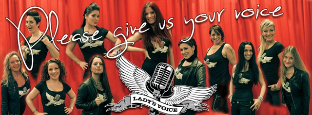 Lady's Voice - Give Us Your Voice